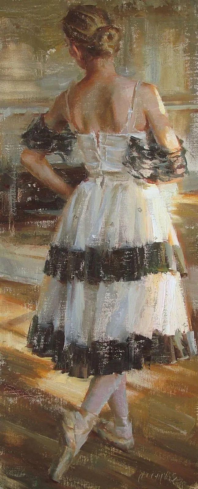 具象女性人物,感受绘画所带来的情感影响和力量!插图81