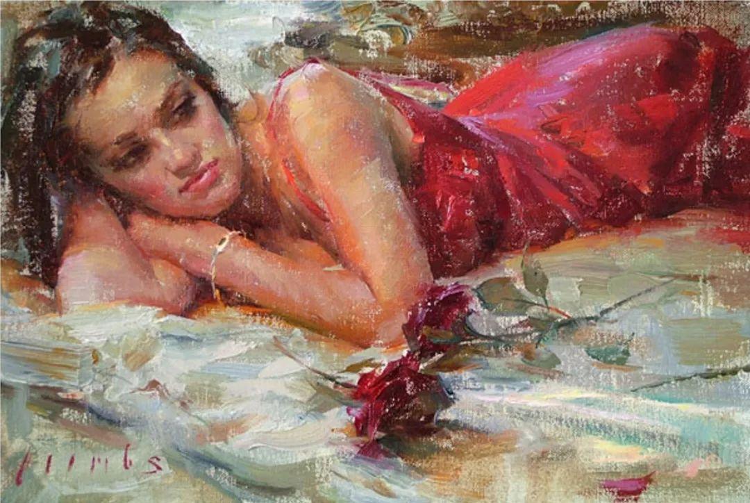 具象女性人物,感受绘画所带来的情感影响和力量!插图85