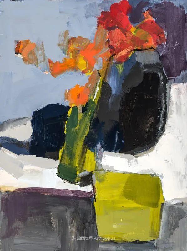 对色彩,形状和空间的生动探索,美国女画家丽莎·诺妮丝插图3