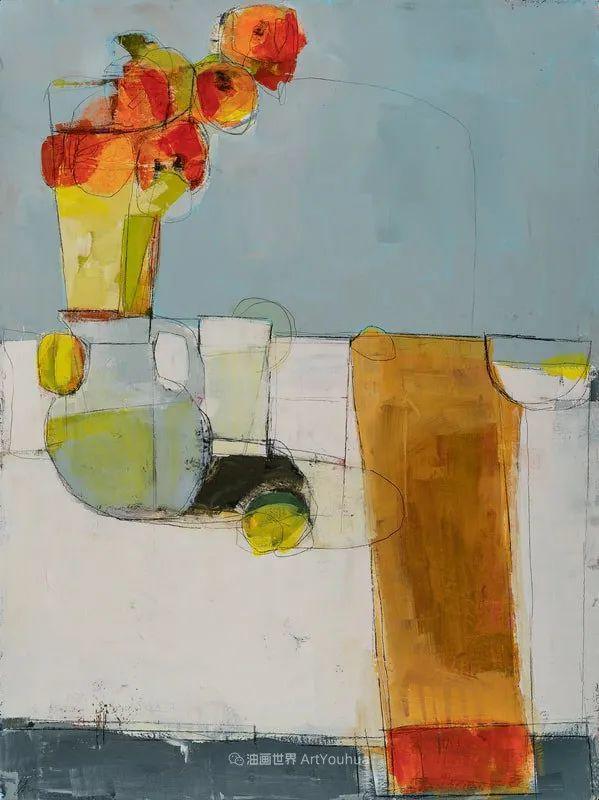 对色彩,形状和空间的生动探索,美国女画家丽莎·诺妮丝插图5