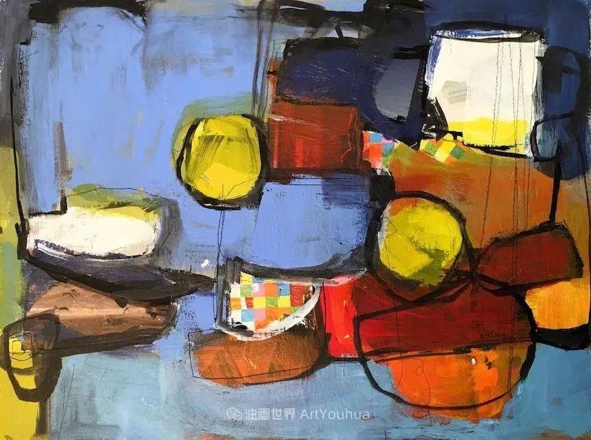 对色彩,形状和空间的生动探索,美国女画家丽莎·诺妮丝插图7