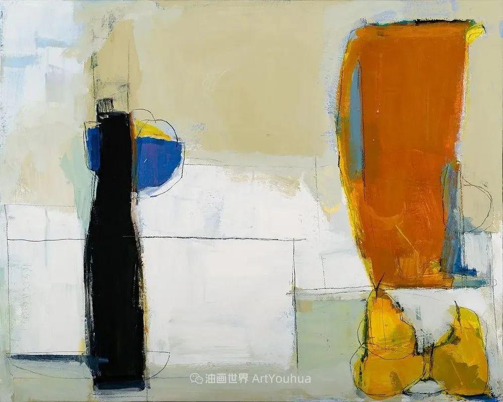 对色彩,形状和空间的生动探索,美国女画家丽莎·诺妮丝插图15