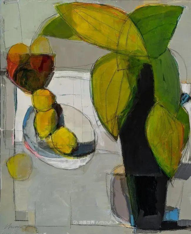 对色彩,形状和空间的生动探索,美国女画家丽莎·诺妮丝插图17