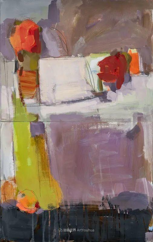 对色彩,形状和空间的生动探索,美国女画家丽莎·诺妮丝插图29
