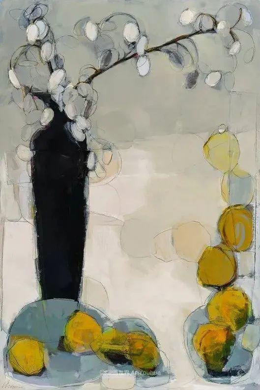 对色彩,形状和空间的生动探索,美国女画家丽莎·诺妮丝插图31
