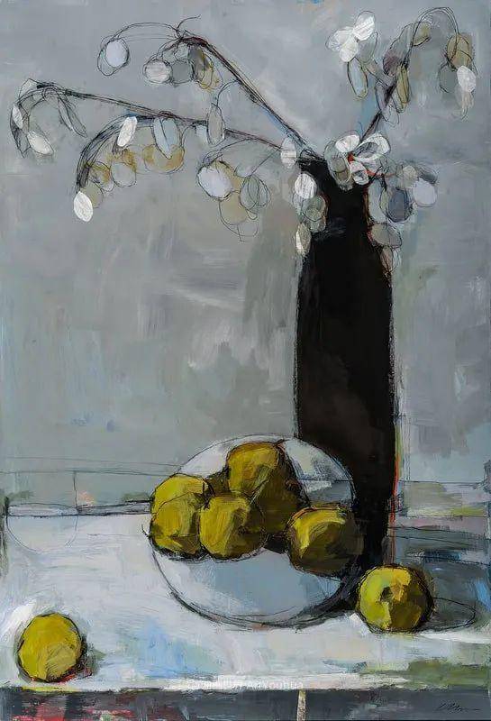 对色彩,形状和空间的生动探索,美国女画家丽莎·诺妮丝插图33