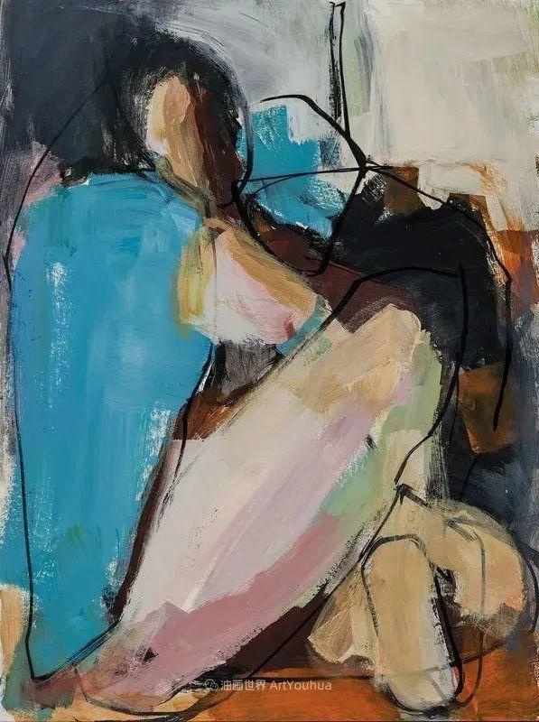 对色彩,形状和空间的生动探索,美国女画家丽莎·诺妮丝插图37
