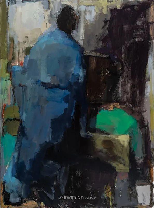 对色彩,形状和空间的生动探索,美国女画家丽莎·诺妮丝插图41