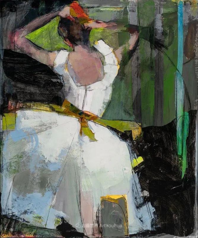 对色彩,形状和空间的生动探索,美国女画家丽莎·诺妮丝插图43