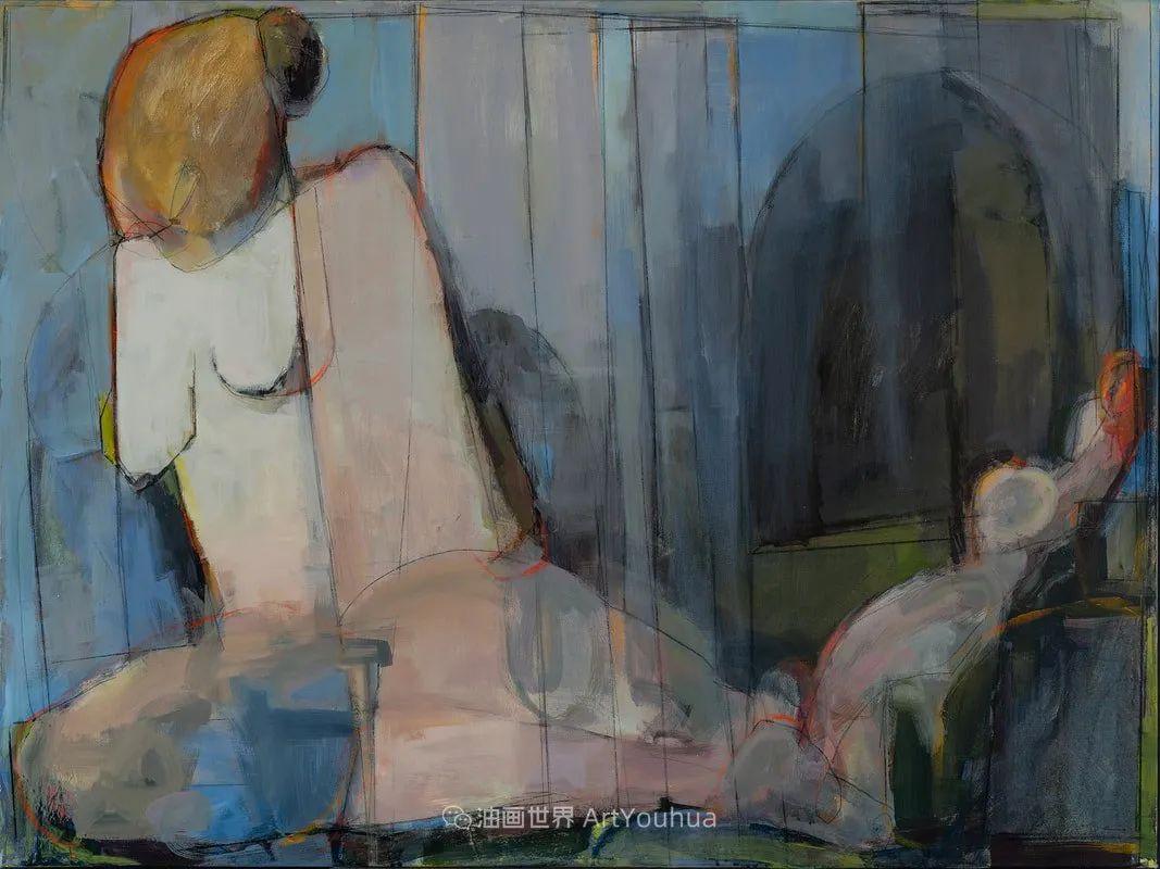 对色彩,形状和空间的生动探索,美国女画家丽莎·诺妮丝插图45