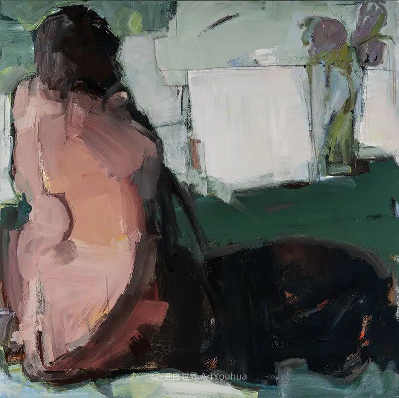 对色彩,形状和空间的生动探索,美国女画家丽莎·诺妮丝插图49