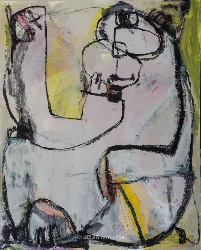 对色彩,形状和空间的生动探索,美国女画家丽莎·诺妮丝插图53