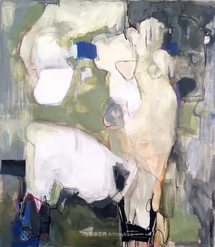 对色彩,形状和空间的生动探索,美国女画家丽莎·诺妮丝插图57