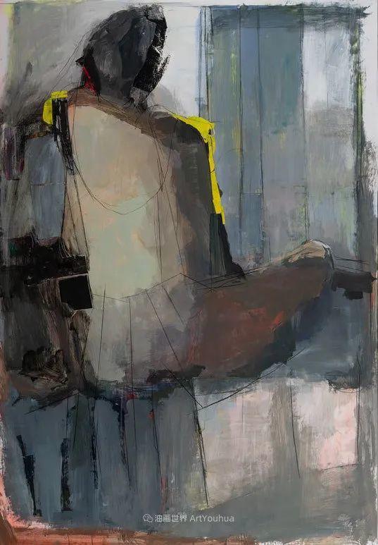 对色彩,形状和空间的生动探索,美国女画家丽莎·诺妮丝插图62
