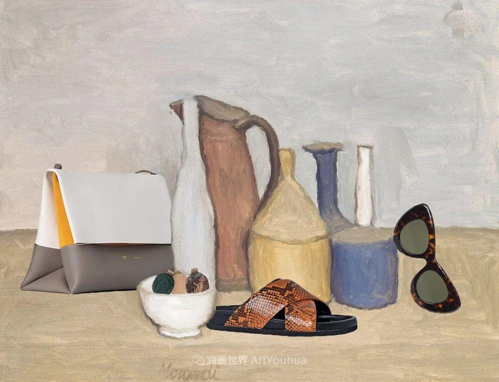 莫兰迪几乎从来不用鲜亮的颜色,把几只瓶子画了一生!插图3