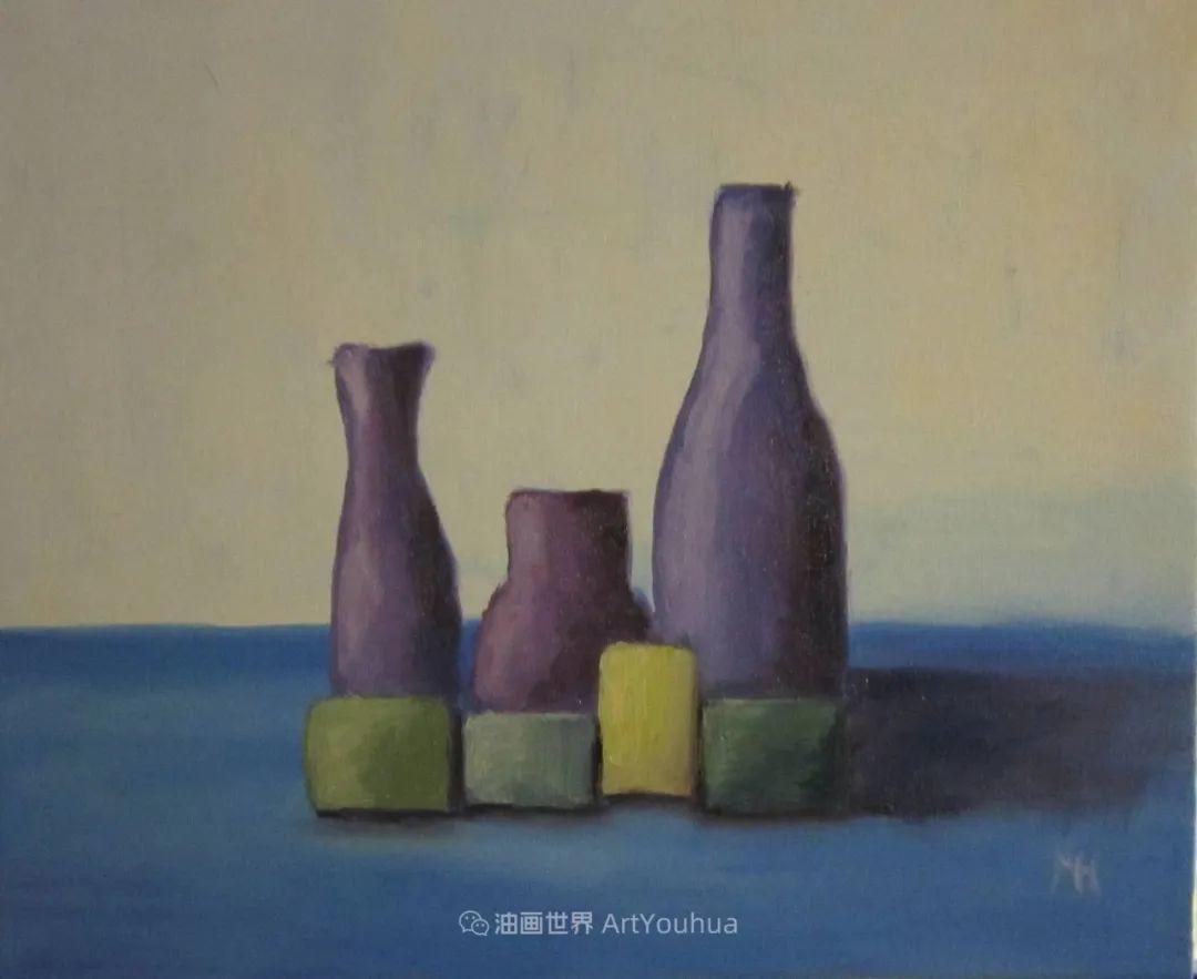 莫兰迪几乎从来不用鲜亮的颜色,把几只瓶子画了一生!插图81