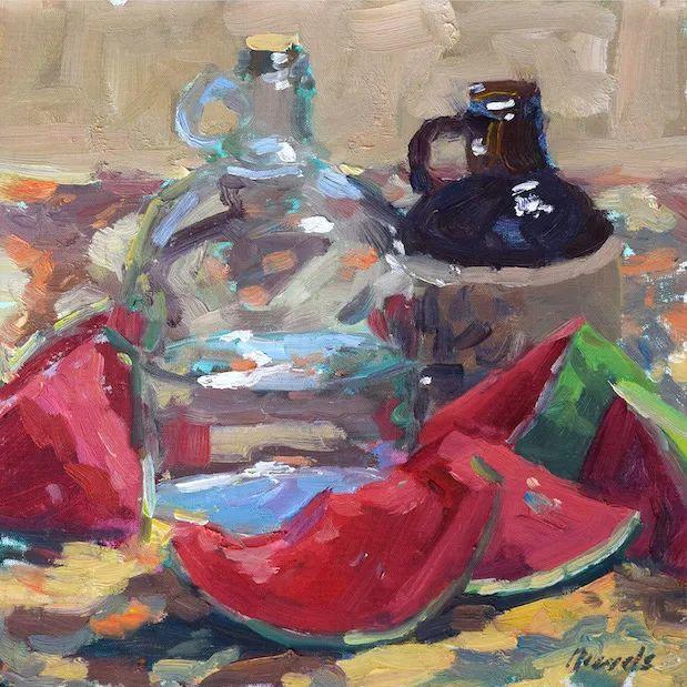 美国印象派画家安东·诺威尔斯插图19