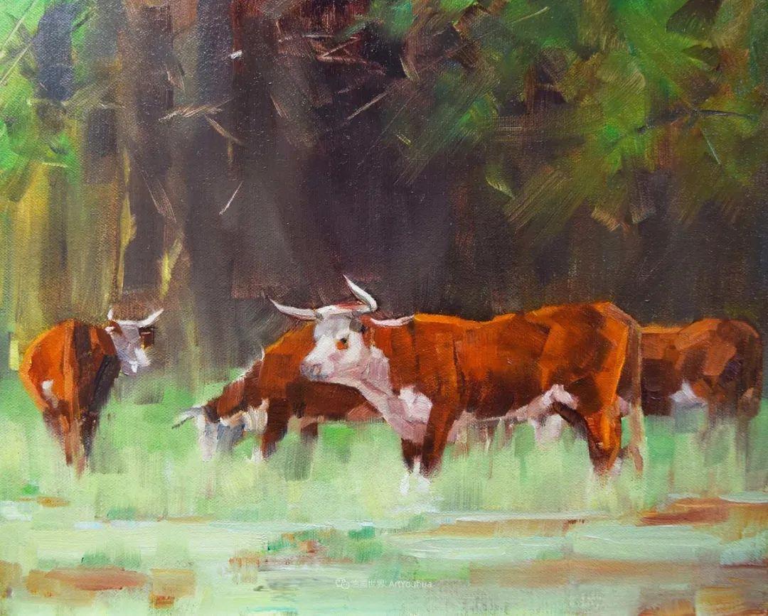 美国印象派画家安东·诺威尔斯插图23