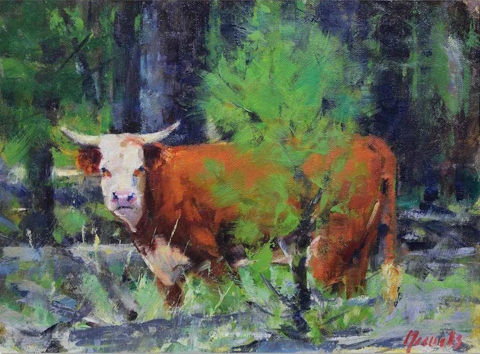 美国印象派画家安东·诺威尔斯插图25