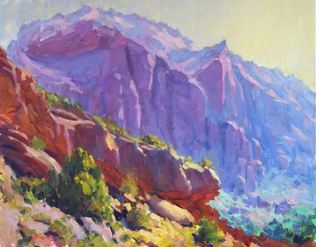 美国印象派画家安东·诺威尔斯插图65