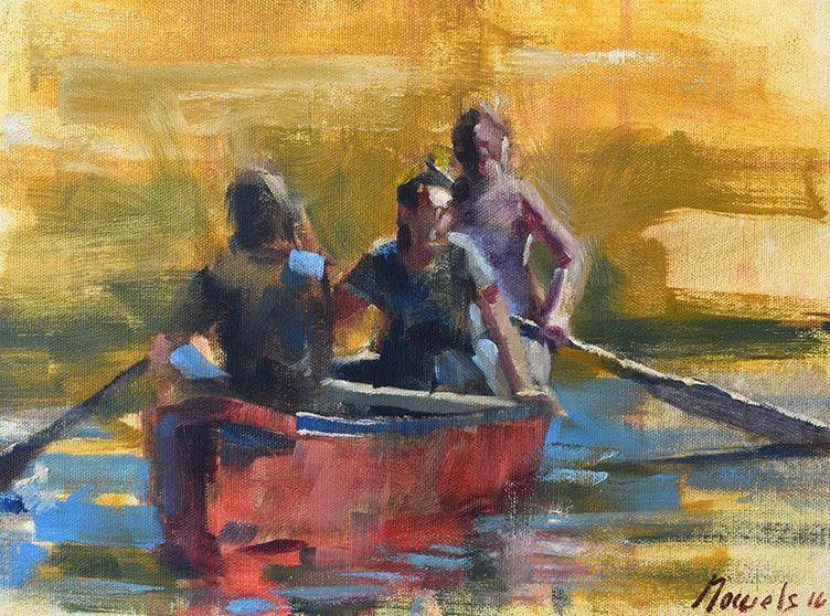 美国印象派画家安东·诺威尔斯插图97