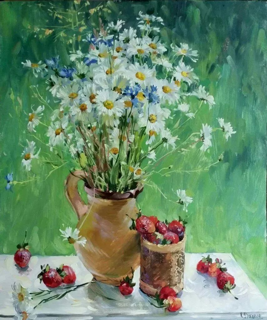 色感很清新,俄罗斯画家安东·维亚切斯拉维奇插图9