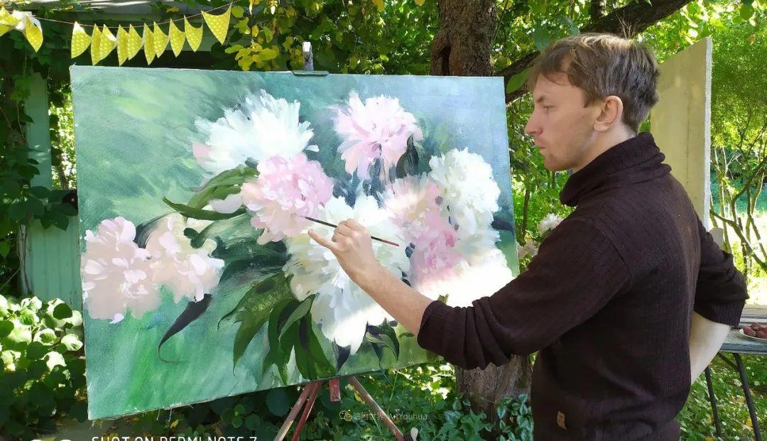 色感很清新,俄罗斯画家安东·维亚切斯拉维奇插图13