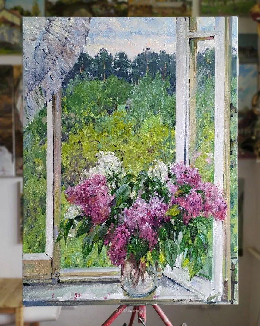 色感很清新,俄罗斯画家安东·维亚切斯拉维奇插图15
