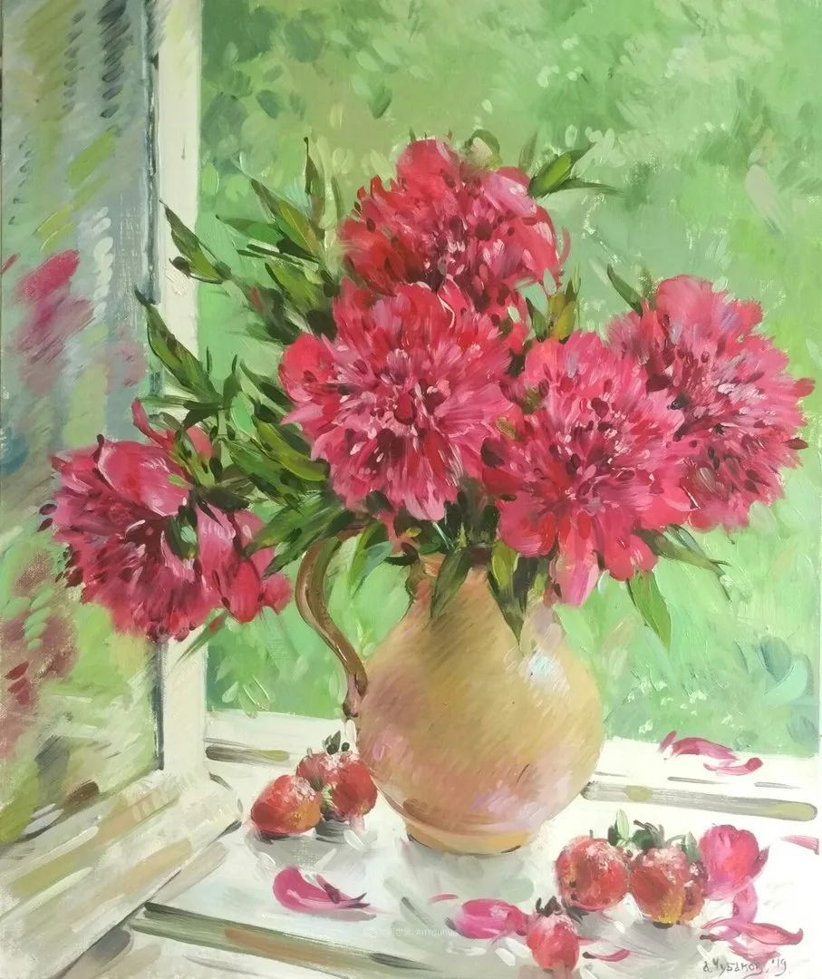 色感很清新,俄罗斯画家安东·维亚切斯拉维奇插图19