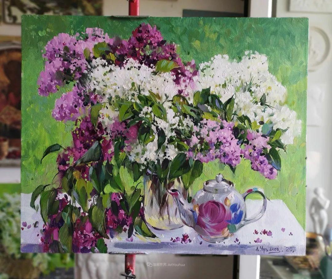 色感很清新,俄罗斯画家安东·维亚切斯拉维奇插图41