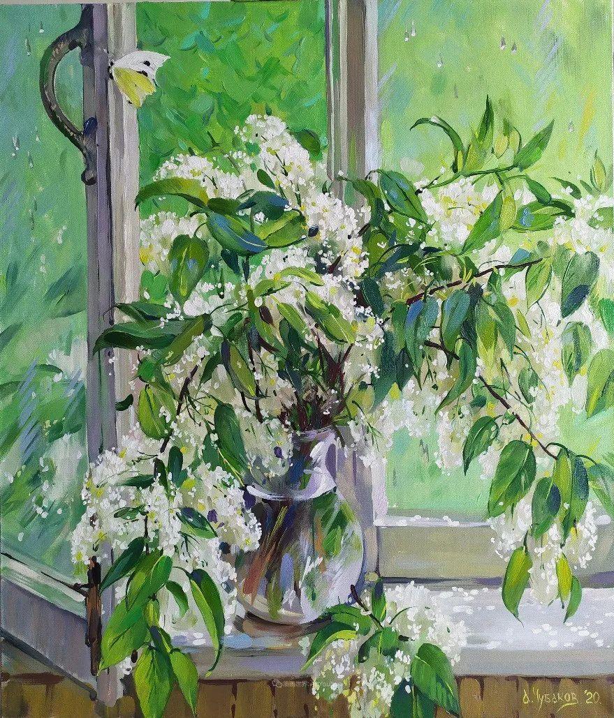 色感很清新,俄罗斯画家安东·维亚切斯拉维奇插图45