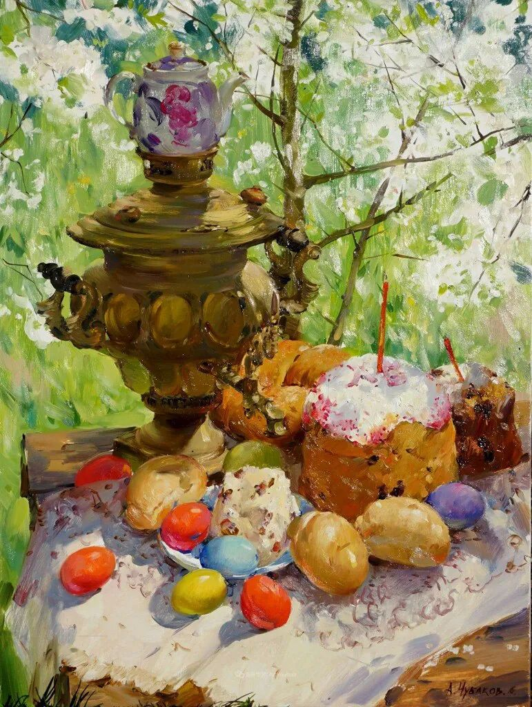 色感很清新,俄罗斯画家安东·维亚切斯拉维奇插图49
