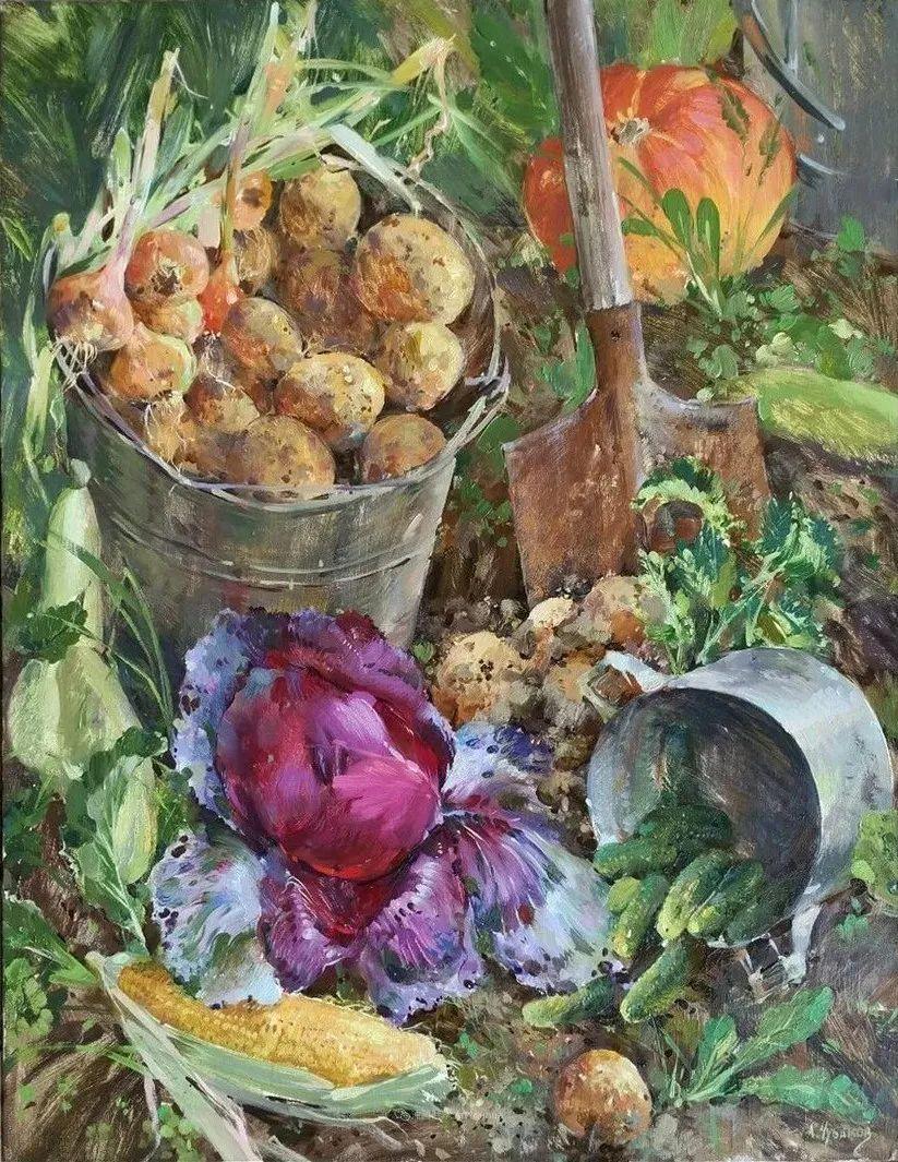 色感很清新,俄罗斯画家安东·维亚切斯拉维奇插图59