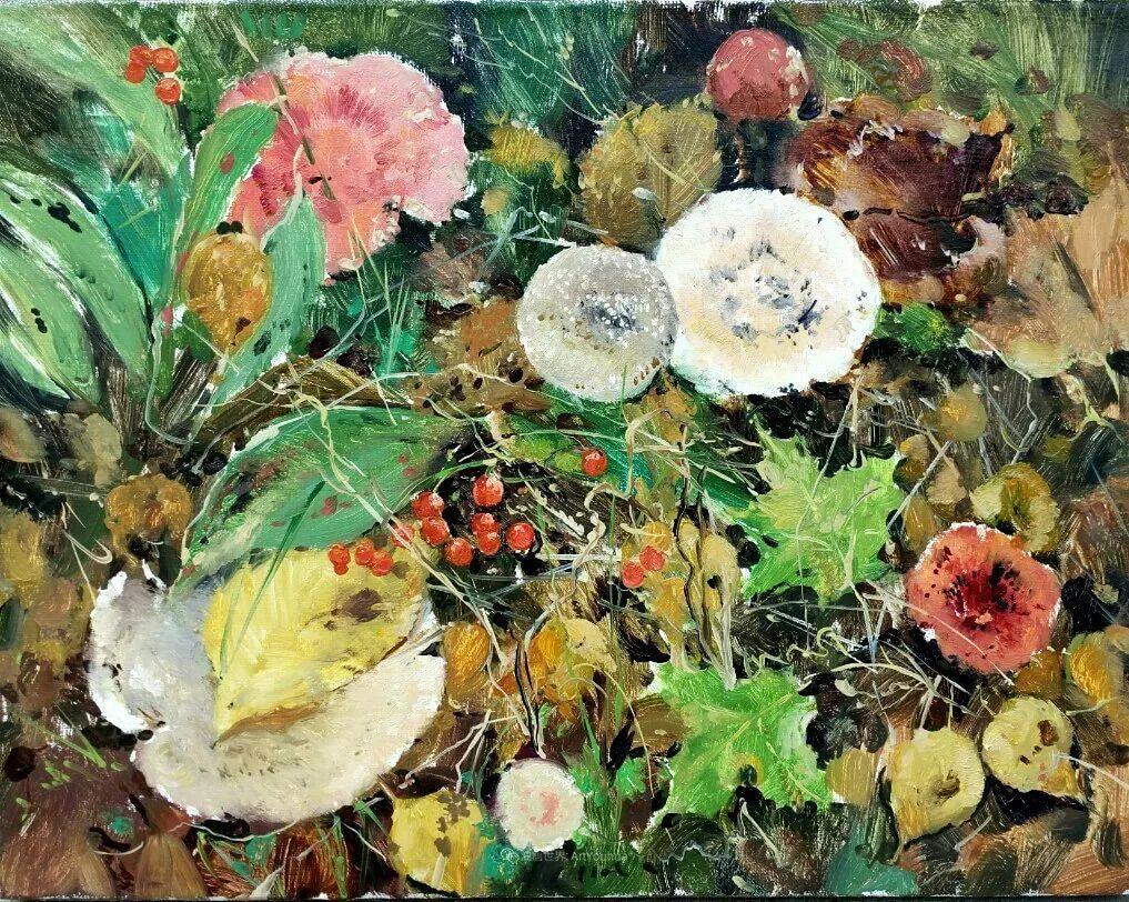 色感很清新,俄罗斯画家安东·维亚切斯拉维奇插图61