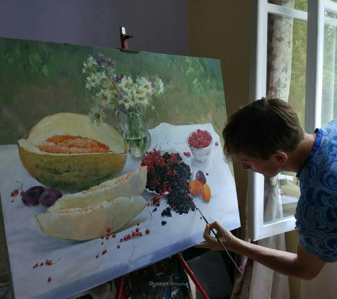 色感很清新,俄罗斯画家安东·维亚切斯拉维奇插图65