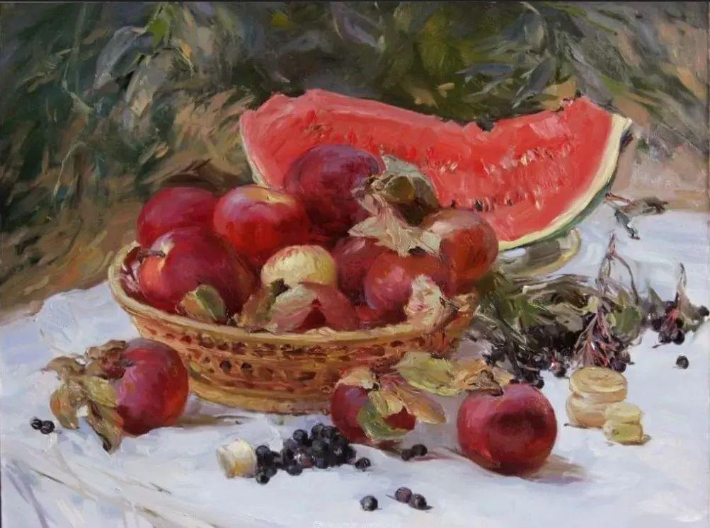 色感很清新,俄罗斯画家安东·维亚切斯拉维奇插图69