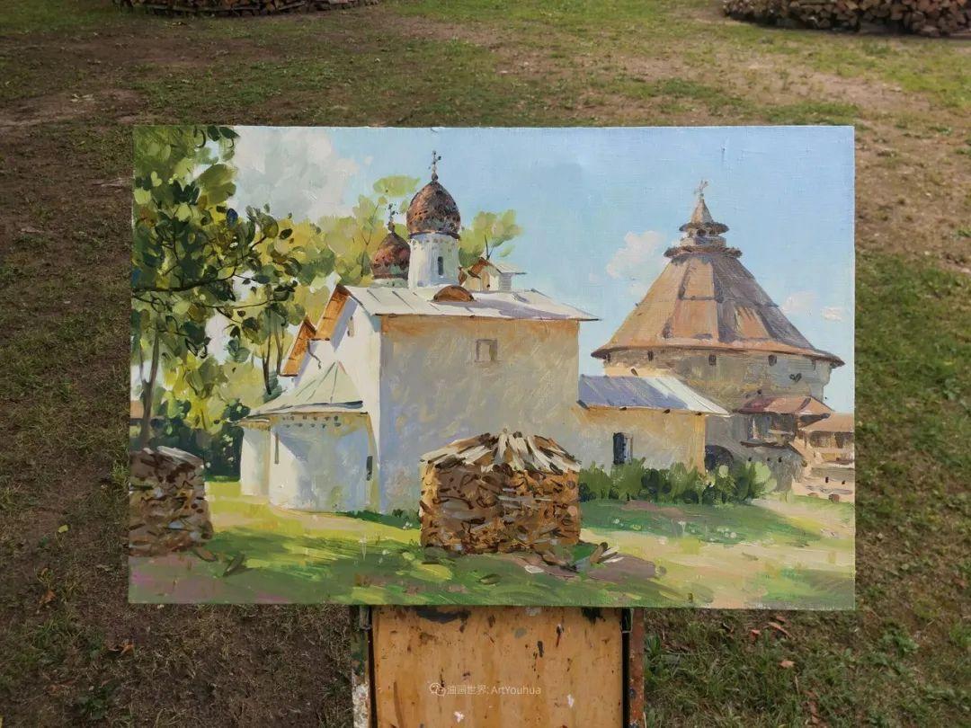 色感很清新,俄罗斯画家安东·维亚切斯拉维奇插图73
