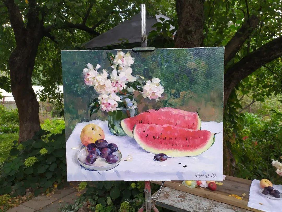 色感很清新,俄罗斯画家安东·维亚切斯拉维奇插图79