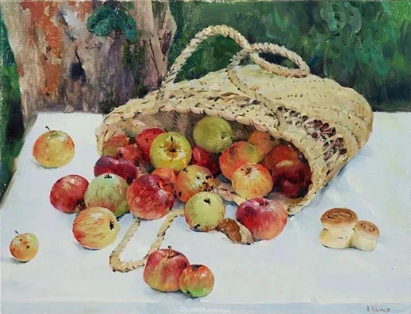 色感很清新,俄罗斯画家安东·维亚切斯拉维奇插图87