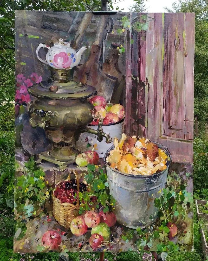 色感很清新,俄罗斯画家安东·维亚切斯拉维奇插图97