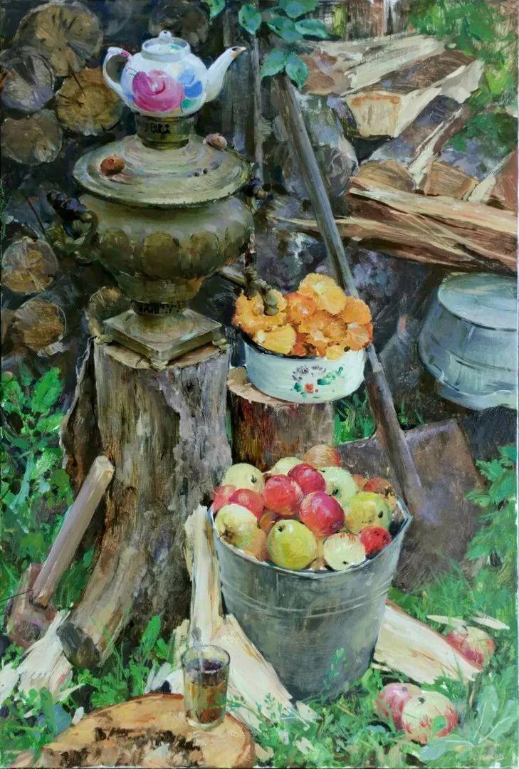 色感很清新,俄罗斯画家安东·维亚切斯拉维奇插图99