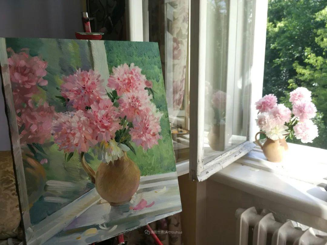 色感很清新,俄罗斯画家安东·维亚切斯拉维奇插图113