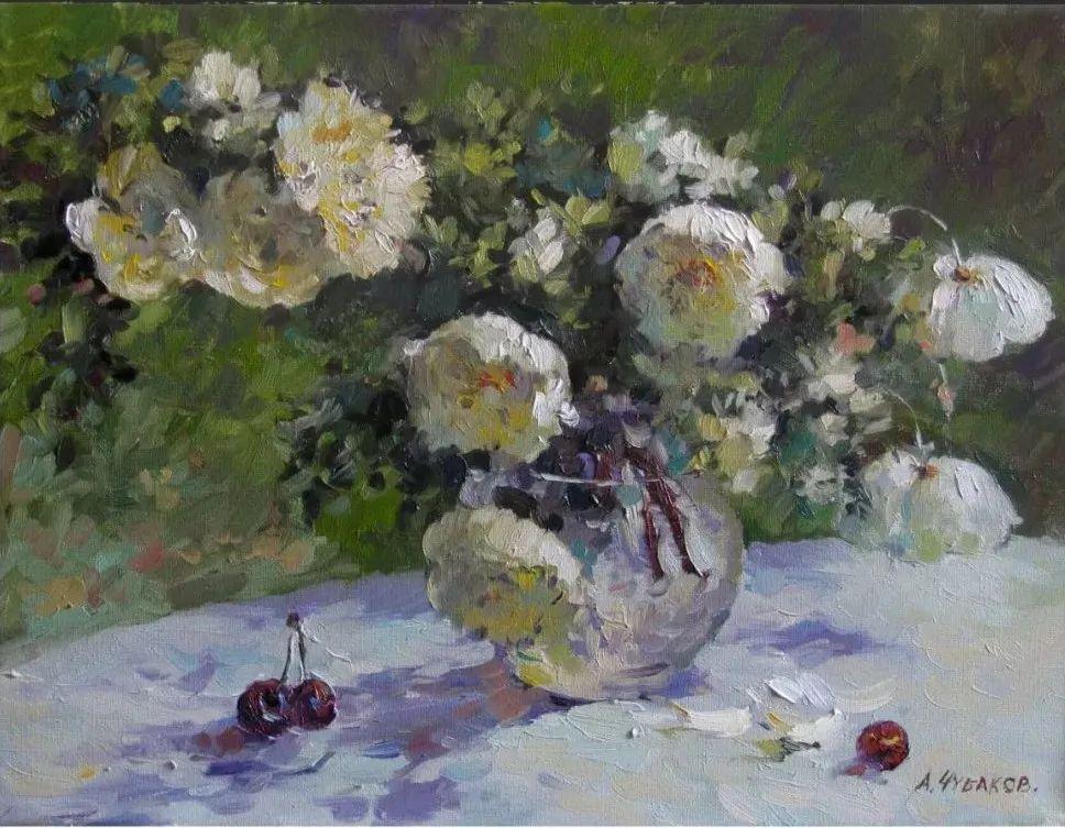 色感很清新,俄罗斯画家安东·维亚切斯拉维奇插图115