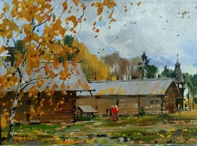 色感很清新,俄罗斯画家安东·维亚切斯拉维奇插图123