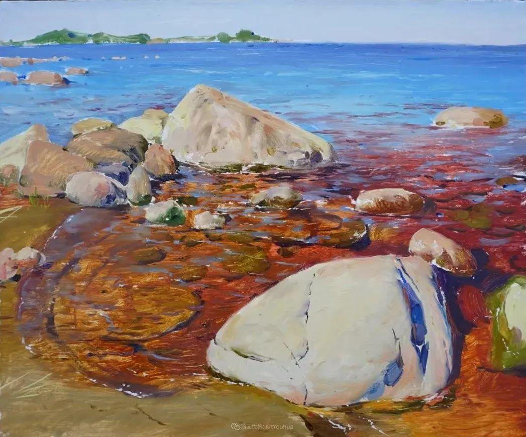 色感很清新,俄罗斯画家安东·维亚切斯拉维奇插图135