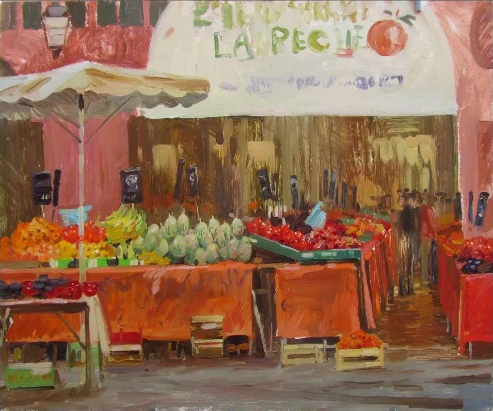色感很清新,俄罗斯画家安东·维亚切斯拉维奇插图137