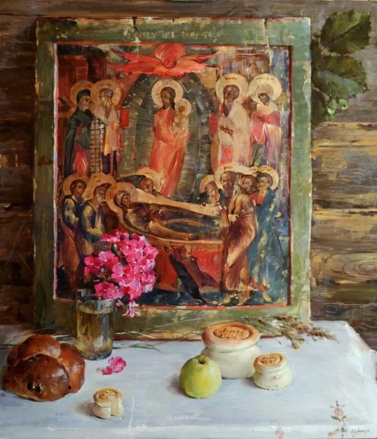 色感很清新,俄罗斯画家安东·维亚切斯拉维奇插图139