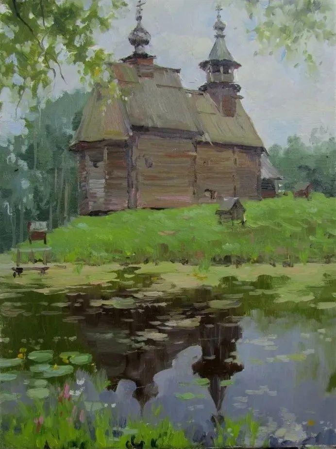 色感很清新,俄罗斯画家安东·维亚切斯拉维奇插图143