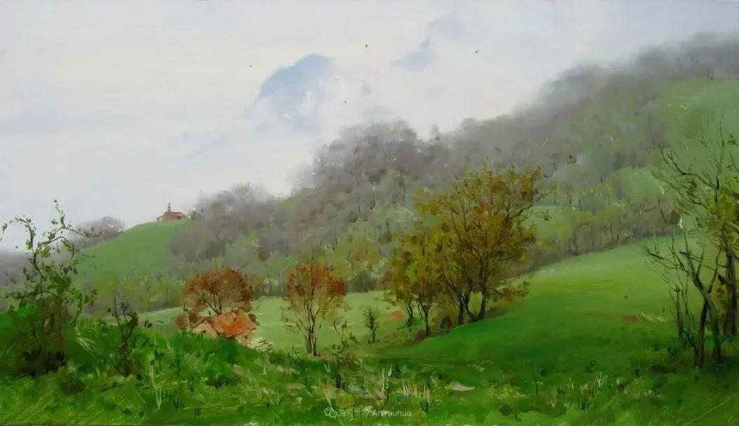 色感很清新,俄罗斯画家安东·维亚切斯拉维奇插图145