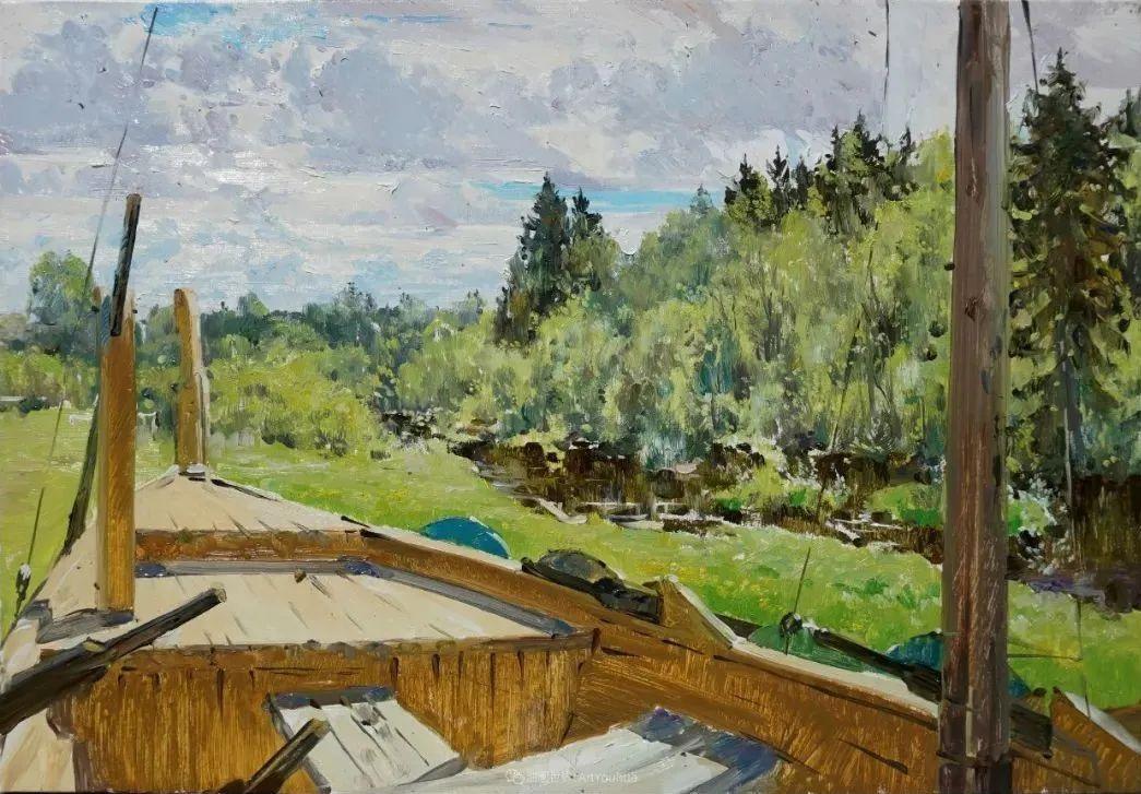 色感很清新,俄罗斯画家安东·维亚切斯拉维奇插图155